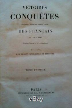 C1 NAPOLEON VICTOIRES ET CONQUETES DES FRANCAIS 1792 1815 Serie COMPLETE