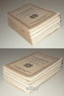 CAHIERS DU CENTENAIRE DE L'ALGÉRIE. Collection complète 12 fascicules. 1930