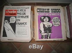 CHARLIE HEBDO INTEGRALE COLLECTION COMPLETE 1970-2019. Total de 1973 Numéros