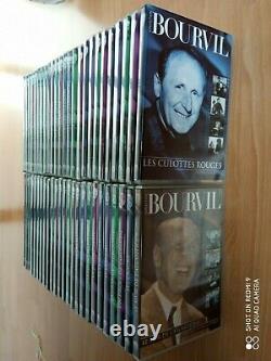 COLLECTION BOURVIL Lot de 50 DVD Série COMPLETE en TTBE