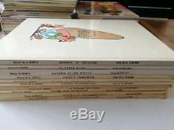 COLLECTION COMPLÈTE ASTERIX lot de 35 tomes dont 29 EO + 6 hors serie EO