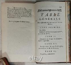 COLLECTION COMPLETE DES OEUVRES DE M DE CREBILLON FILS -1777 14 TOMES en 7 volum