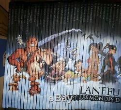 COLLECTION COMPLETE LANFEUST et LES MONDES DE TROY 65 Albums TROLLS- TARQUIN