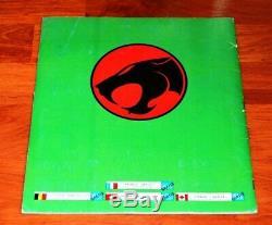 COSMOCATS album Panini vintage complet de 1986 très bon état rare