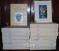 Cahiers De La Ceramique Et Des Arts Du Feu. Collection Complete Du N°1 Au 59