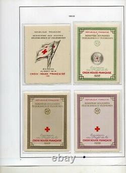 - Carnets Croix-Rouge 1952 à 1983 COLLECTION des 32 carnets COMPLETS NEUF