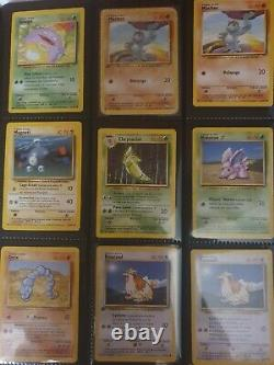 Carte Pokemon 1999 set de base complet 102/102 Wizard