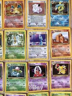 Carte Pokémon Set de base complet 102/102 ED1