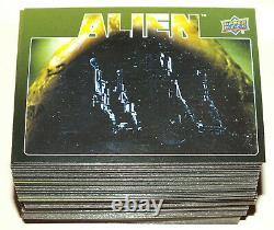 Carte Trading Card Alien Set Complet Std de 100 Cartes (Upper Deck 2017)