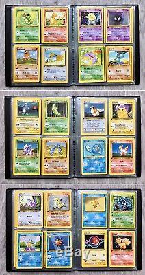 Cartes Pokémon SET DE BASE COMPLET 102/102 édition 1