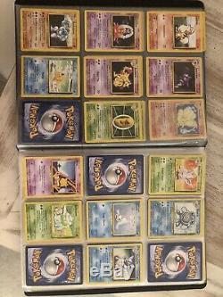 Cartes Pokemon Set De Base Collection Complete a 75/102 dont 13 Holos