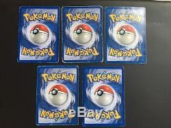 Cartes Pokémon Set De Base Complet Français Édition 2 Wizards