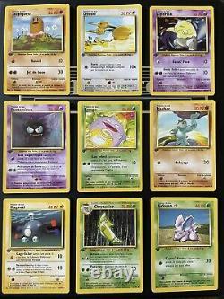 Cartes Pokemon Set De Base Edition 1 Quasi Complet Hors Holos Proche Du Neuf FR