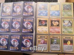 Cartes Pokémon set de base édition 1 collection complète TBE