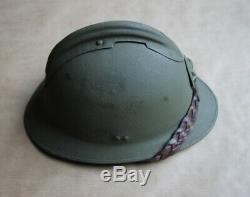 Casque Adrian de Général de brigade Seconde Guerre mondiale Complet