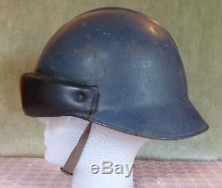 Casque Jeanne d'Arc modèle 1945 ARMEE DE L'AIR, daté 1950, Complet en bon état