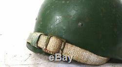 Casque de combat Russe/Sovietique SSH40 complet, forme ronde, reste d'etoile T2
