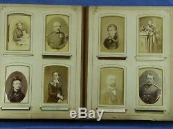 Cdv. Cab. Cart. Album. Belgique. Complet. C°1865-1890. Bon Etat. Album De Famille
