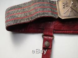Ceinturon complet officier de Lanciers Grde tenue Napoleon III