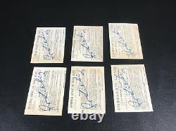Chromo Card Liebig Hutinet S 165 Serie De 6 Set Complet