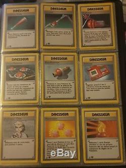 Classeur Pokemon Set De Base Complet edition 1 dracaufeu tortank florizarre etc