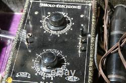 Coffret HOLO ELECTRON médical complet des années 30 à l'état comme neuf