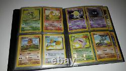 Collection Cartes Pokemon Set de Base COMPLET dont Dracaufeu 1ED Wizard FR