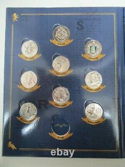 Collection Complète 20 Jetons Médailles Monnaie de Paris 2021 Harry Potter