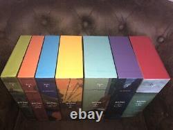 Collection Complète 7 Harry Potter Édition DE LUXE Gallimard 2009 Comme Neuf