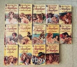 Collection Complete Angelique De Anne & Serge Golon 14 Livres De Poche