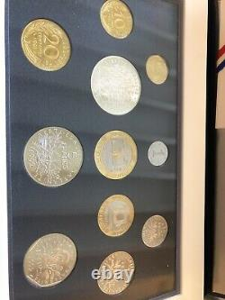 Collection Complete Coffrets Belle Epreuve Monnaie De Paris