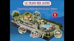 Collection Complete Construisez Le Train Des Alpes Echelle N + Cadeaux