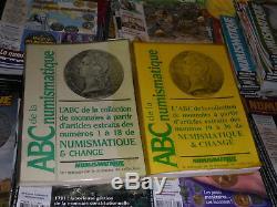 Collection Complète De La Revue Numismatique & Change Pres De 44 Ans De Parution