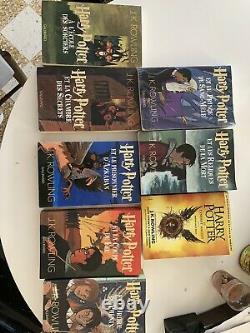 Collection Complete De Livre Harry Potter 1er Edition Version Gallimard