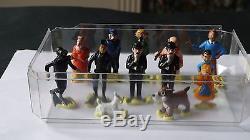 Collection Complète Des 13 Figurines Esso Tintin Et Le Lac Aux Requins