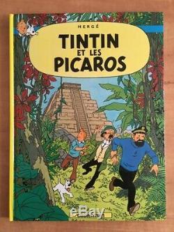 Collection Complete Des 24 Albums De Tintin Tbe