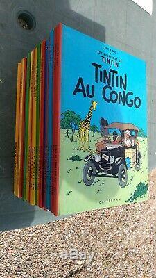 Collection Complete Tintin Annees 80 Avec Tintin Lac Des Requins En Tbe
