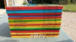 Collection Complete Tintin Annees 80 Avec Tintin Lac Des Requins+oranges Bleues