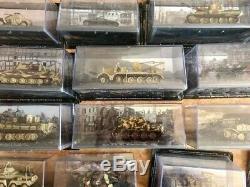 Collection Complète de chars tanks Panzer Altaya