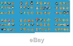 Collection Complete des 100 Minions By McDonald's