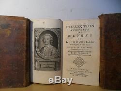 Collection Complète des Oeuvres de J. J. ROUSSEAU
