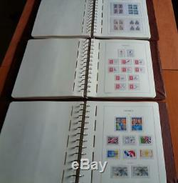 Collection France de 1975 à 1999 complète en albums leuchtturm faciale 50%