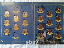 Collection Harry Potter quasi complète mini médailles monnaie de paris
