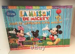 Collection Intégrale La Maison de Mickey complet 50 livres + 50 DVD altaya
