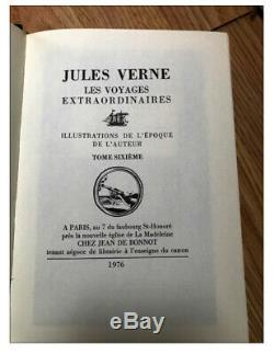 Collection Jules Verne Jean de Bonnot Complète 32 Volumes