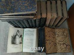 Collection Oeuvres complètes de BALZAC éd. Paris Houssiaux 1877