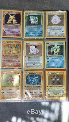 Collection Pokémon complète set de base Edition 1 FR, Dont toutes les Holo 102
