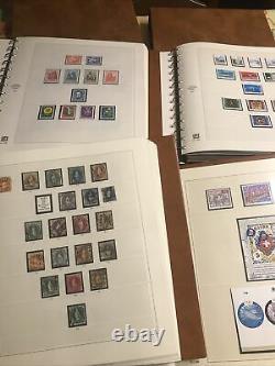 Collection Suisse Albums SAFE 1850/2002 Très Complet Cote Plus De 6500 + Facial