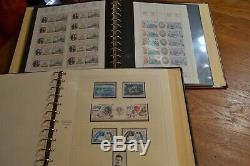 Collection TAAF album SAFE 1948/1999 complète neufs + album de feuilles