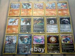 Collection complète 100% REVERSE de cartes pokemon EXPLOSION PLASMA